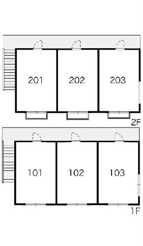 レオパレスSPATZ 102号室のその他共有