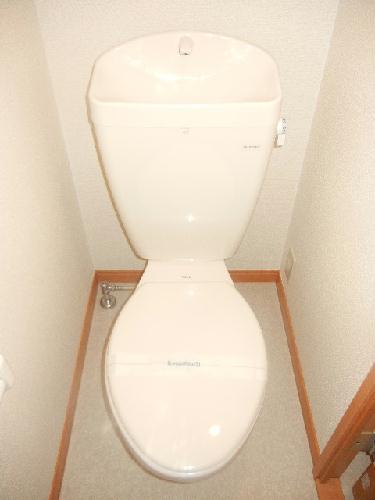 レオパレスルミエールⅡ 206号室のトイレ