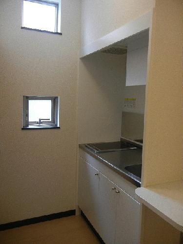 レオネクストリアンⅡ 101号室のキッチン