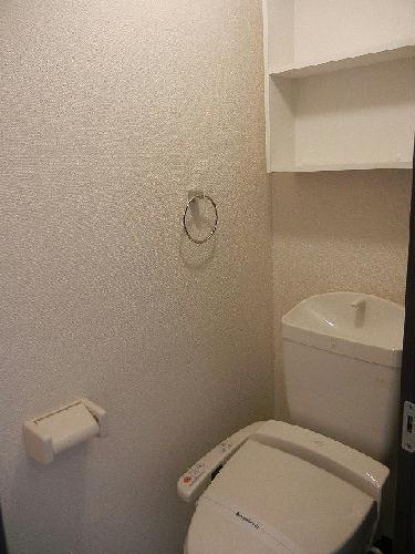 レオネクストリアンⅡ 101号室のトイレ