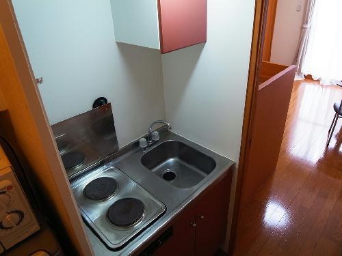 レオパレス西尾いまがわ 208号室のキッチン