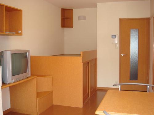 レオパレスアンソレイユ 205号室のリビング