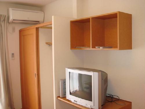 レオパレスアンソレイユ 205号室の収納