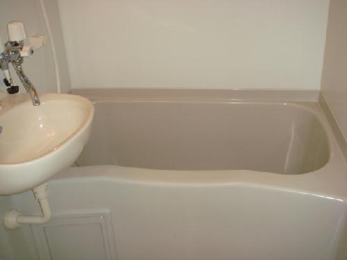 レオパレスアンソレイユ 205号室の風呂