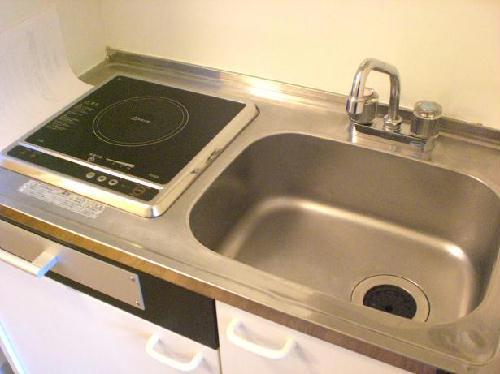 レオパレス高雄Ⅱ 107号室のキッチン