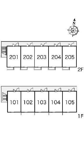 レオパレスフォンターナ 203号室のその他