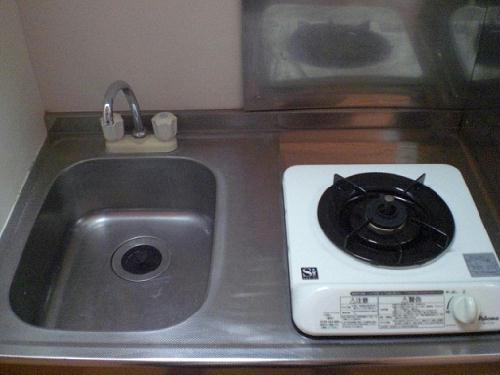 レオパレス浜町・江部 202号室のキッチン