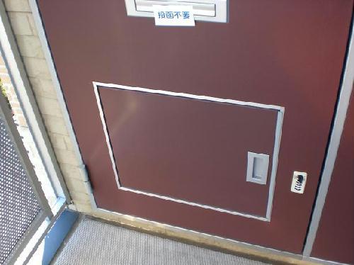 レオパレスコスモス 202号室の玄関