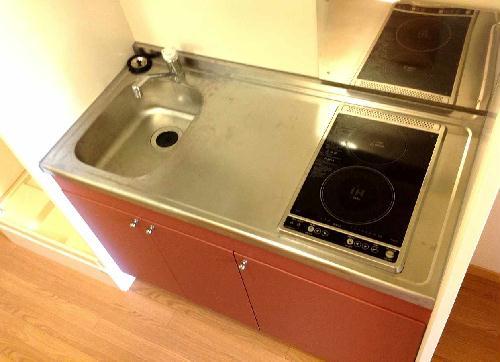 レオパレスリナフェリーチェ 103号室のキッチン