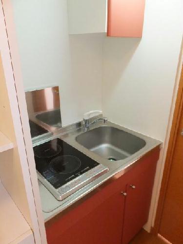 レオパレス翠 208号室のキッチン