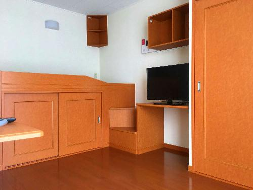 レオパレスフローラル 205号室の収納