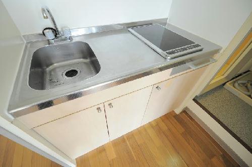 レオパレスプレミールレジデンスM 204号室のキッチン