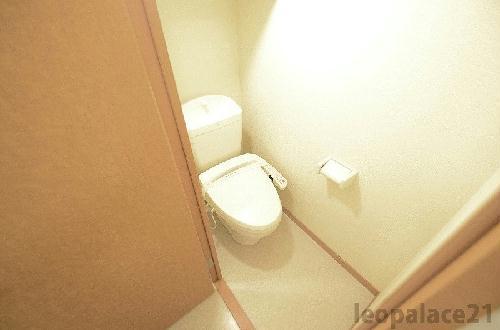 レオパレスドリーム 201号室のトイレ