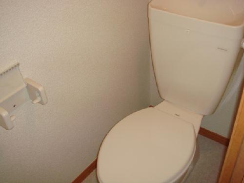 レオパレス筑紫 203号室のトイレ