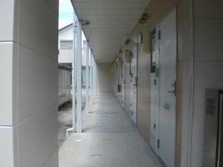 レオパレス筑紫 203号室の玄関