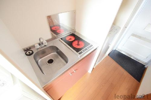 レオパレスメゾン・ド・ボヌール 203号室のキッチン