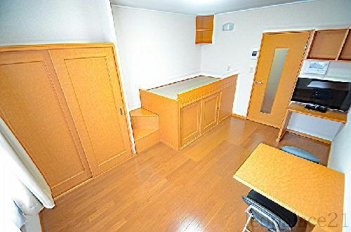レオパレス木太南Ⅱ 209号室のリビング