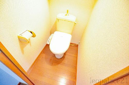 レオパレス木太南Ⅱ 209号室のトイレ