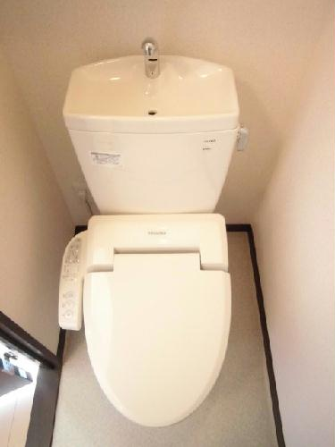レオネクストイレブン 107号室のトイレ