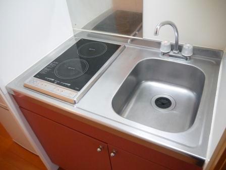 レオパレスミッキー 207号室のキッチン