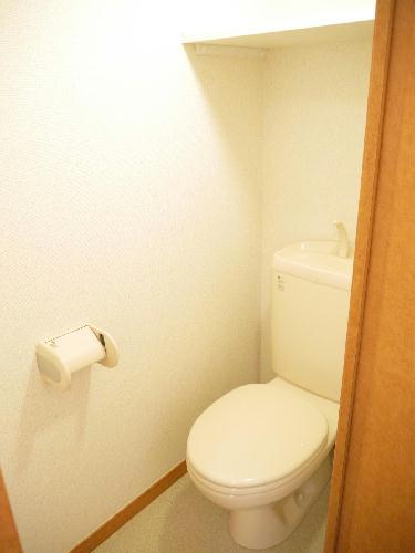 レオパレスミッキー 207号室のトイレ