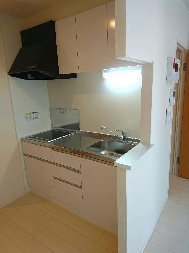 クレイノファミリア 203号室のキッチン