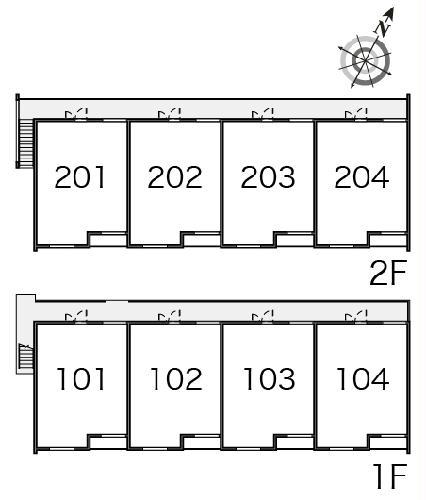 クレイノファミリア 203号室のその他