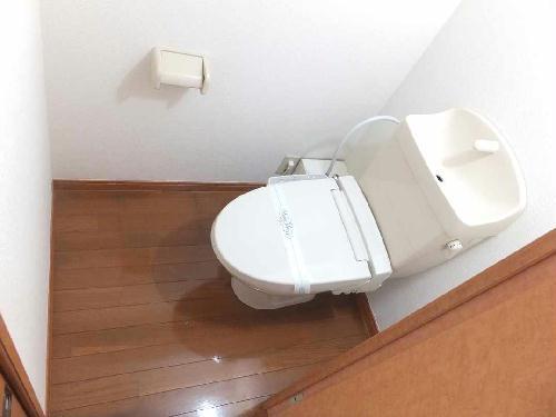 レオパレスフローラ 203号室のトイレ