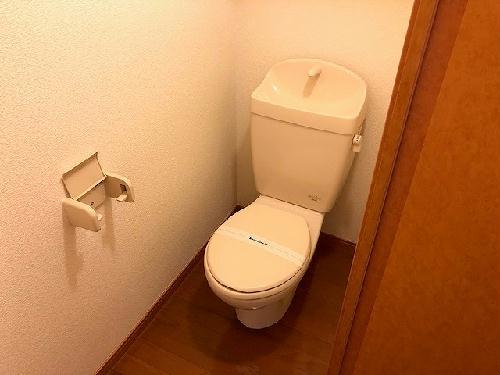 レオパレスK・M 208号室のトイレ