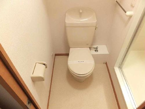 レオパレス立場 202号室のトイレ