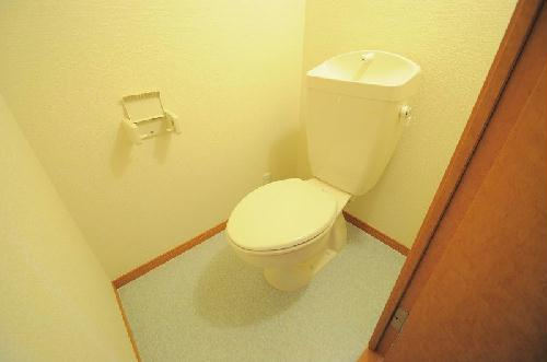 レオパレス西蔵前2 203号室のトイレ