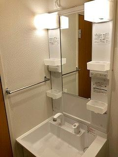 クレイノルーチェ デル ソーレ 302号室の洗面所