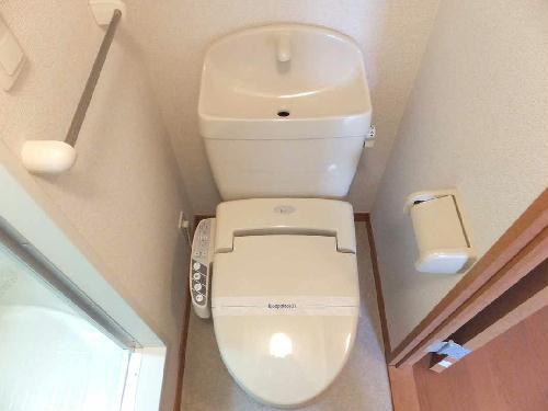 レオパレスレジデンス恵 201号室のトイレ