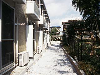レオパレス坂之台ビレッジ 202号室の景色