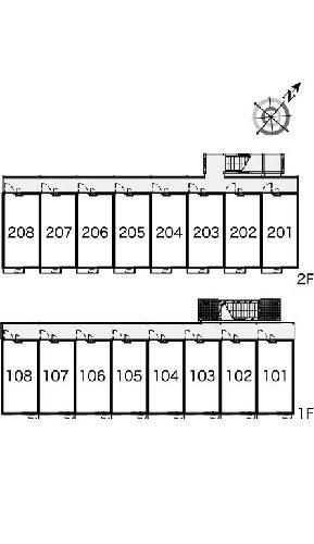 レオパレス坂之台ビレッジ 205号室の設備