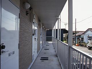 レオパレス坂之台ビレッジ 205号室の洗面所