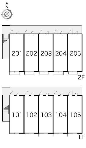 レオパレスMY DREAM 102号室の駐車場