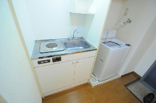 レオパレスファウィステリア 209号室のキッチン