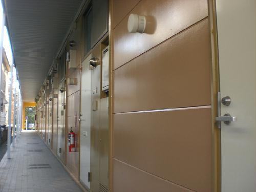 レオパレスファウィステリア 209号室のエントランス