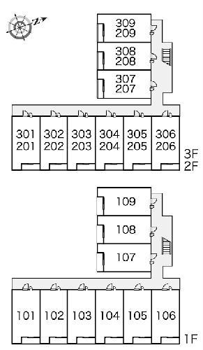 レオパレスノワール Ⅱ 306号室のその他