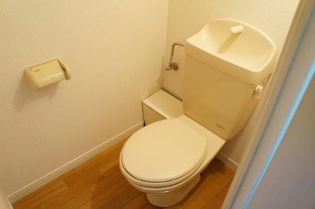 レオパレスT.HOUSE 104号室のトイレ