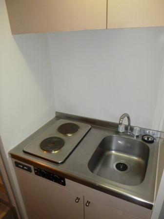 レオパレスM-47 302号室のキッチン
