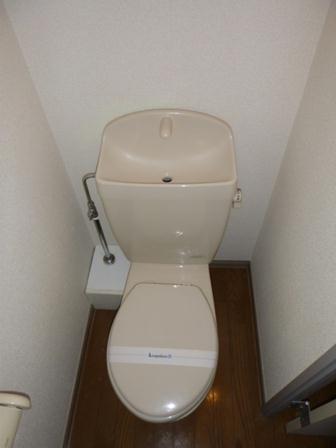 レオパレスM-47 302号室のトイレ