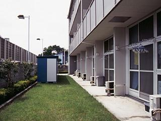 レオパレスM-47 302号室のバルコニー