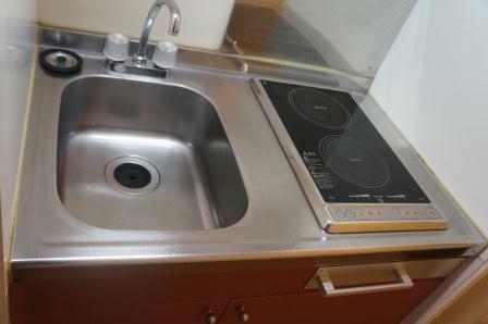 レオパレスノクターン 204号室のキッチン
