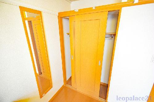 レオパレスプランドール 203号室のトイレ