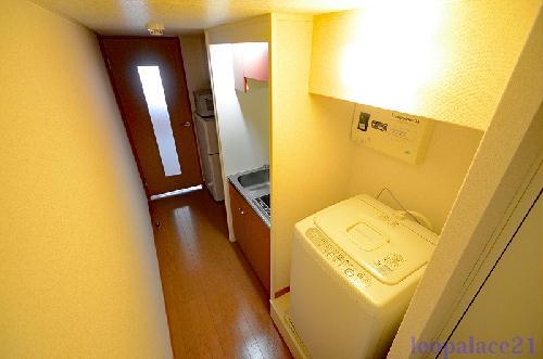 レオパレスプランドール 203号室の収納