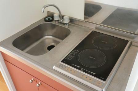 レオパレスメイプルⅡ 102号室のキッチン