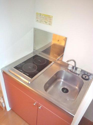 レオパレスAMANO 101号室のキッチン