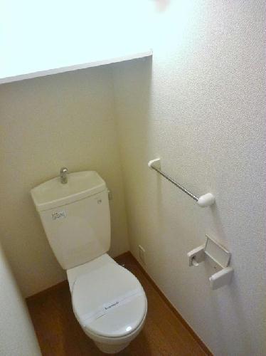 レオパレスAMANO 201号室のトイレ